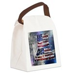 America Freedom Canvas Lunch Bag