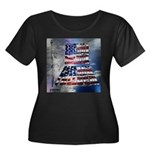 America Freedom Plus Size T-Shirt