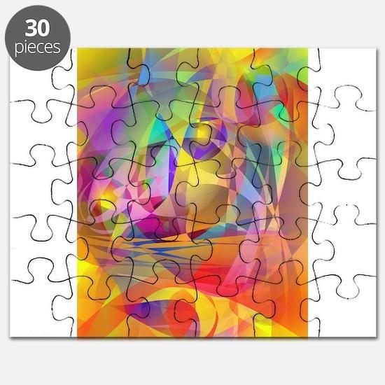 Abstract Banana Puzzle
