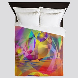 Abstract Banana Queen Duvet