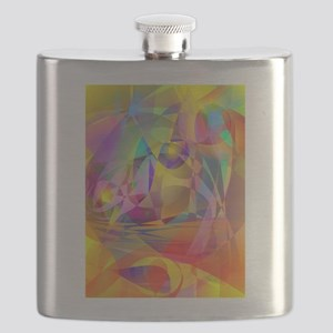 Abstract Banana Flask