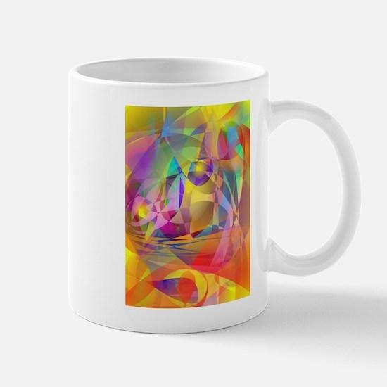 Abstract Banana Mugs