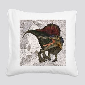 Spinosaurus Square Canvas Pillow