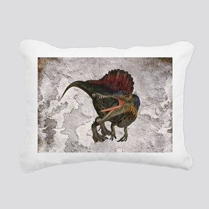 Spinosaurus Rectangular Canvas Pillow