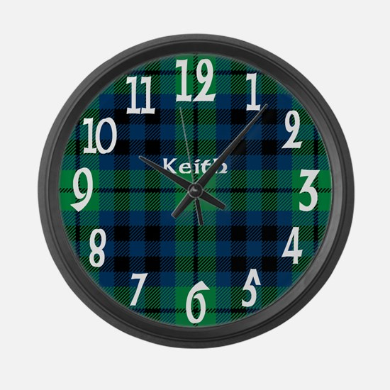 Keith Clan Large Wall Clock