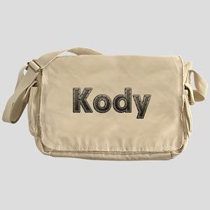Kody Metal Messenger Bag