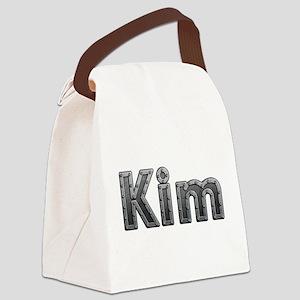 Kim Metal Canvas Lunch Bag