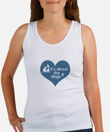 It's about the Dogs Women's Tank Top