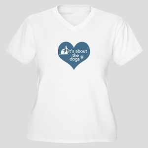 It's about the Do Women's Plus Size V-Neck T-Shirt