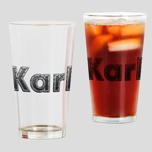 Karl Metal Drinking Glass