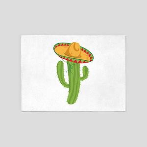 Sombrero Cactus 5'x7'Area Rug