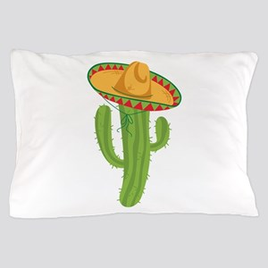 Sombrero Cactus Pillow Case