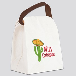 Muy Caliente Canvas Lunch Bag