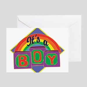 It's A Boy Greeting Cards (Pk of 10)