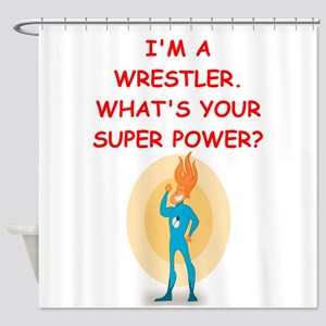 WRESTLER Shower Curtain