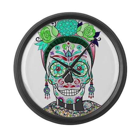 Best Seller Sugar Skull Large Wall Clock