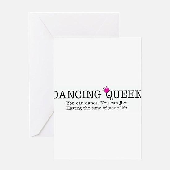 Dancing Queen Greeting Cards
