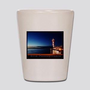 Dobbins Landing at Twilight Shot Glass