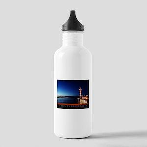 Dobbins Landing at Twilight Water Bottle