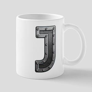 J Metal Mugs