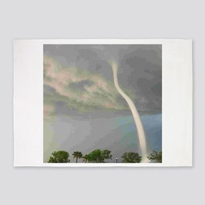 Tornado Waterspout 5'x7'Area Rug