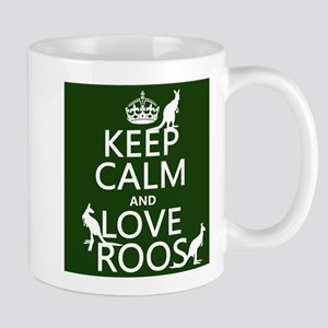 Keep Calm and Love Roos Mugs