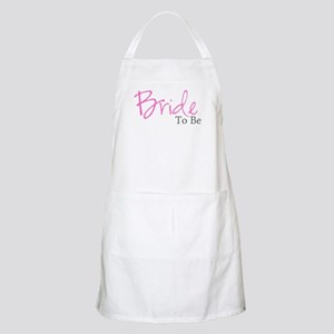 Bride To Be (Pink Script) BBQ Apron