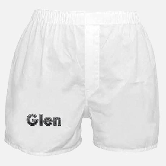 Glen Metal Boxer Shorts