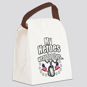 my heroes wear Canvas Lunch Bag