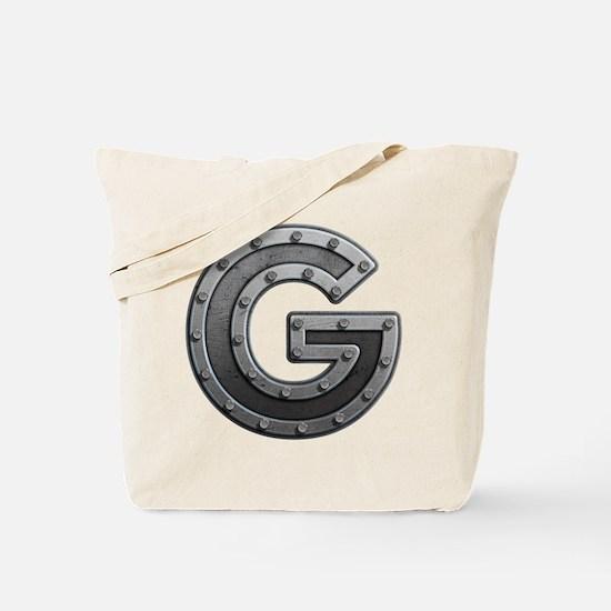 G Metal Tote Bag