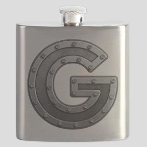 G Metal Flask