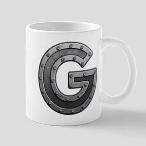 G Metal Mugs