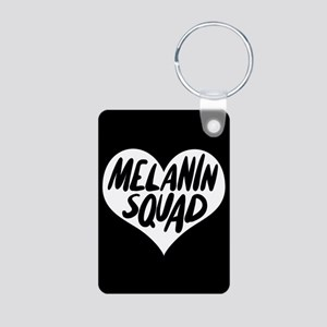 Melanin Squad Aluminum Photo Keychain