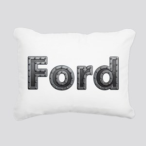 Ford Metal Rectangular Canvas Pillow