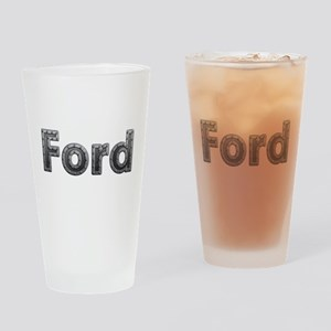 Ford Metal Drinking Glass