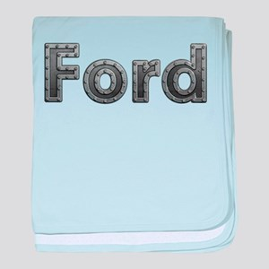 Ford Metal baby blanket