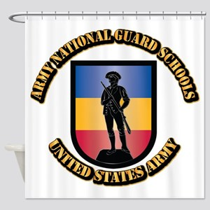 SSI - Army National Guard Schools W Shower Curtain