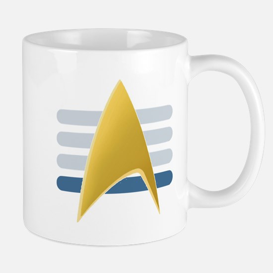 Alt Starfleet Vice Admiral Insignia Mug