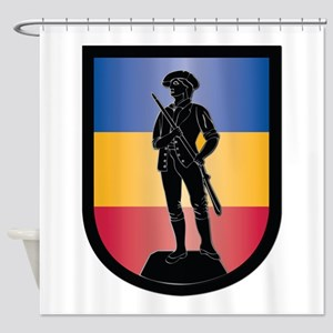 SSI - Army National Guard Schools Shower Curtain