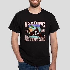 Reading is an Adventure Dark T-Shirt