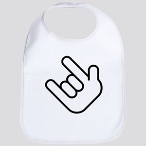 Thizz Hand Sign Bib