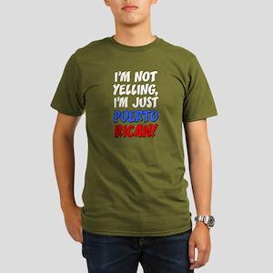c6ae8a15e Funny Puerto Rico Men's Organic Classic T-Shirts - CafePress
