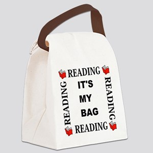 Reading - Its My Bag Canvas Lunch Bag