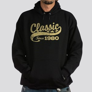 Classic Since 1980 Hoodie (dark)