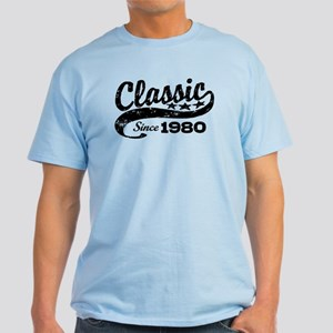 Classic Since 1980 Light T-Shirt