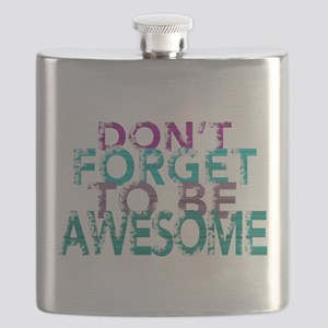 Dont forget to be awesome Flask