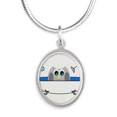 Owl in Tub Necklaces