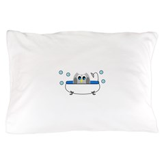 Owl in Tub Pillow Case