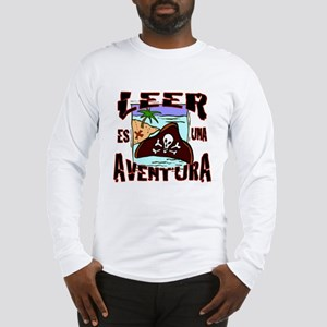 Reading is an Adventure SPANIS Long Sleeve T-Shirt