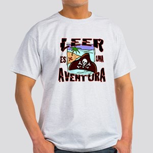 Reading is an Adventure SPANISH Light T-Shirt